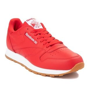 NWOT RED REEBOK SHOES